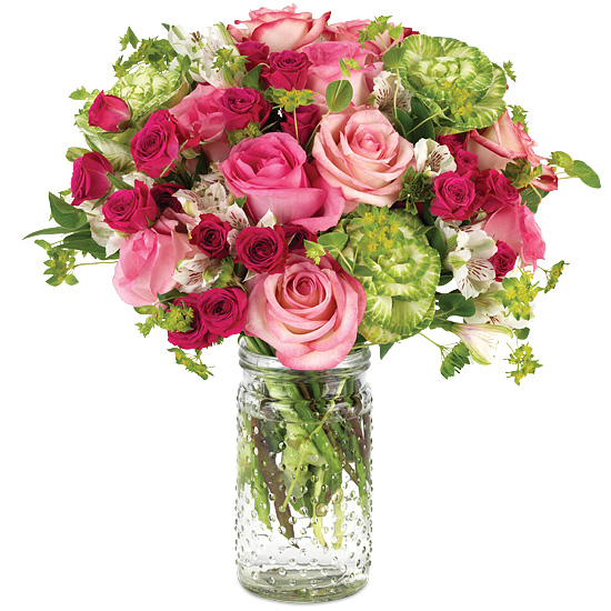 So Much More Mother's Day Bouquet with signature glass vase
