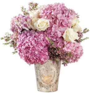 Pink Reverie Hydrangea Bouquet