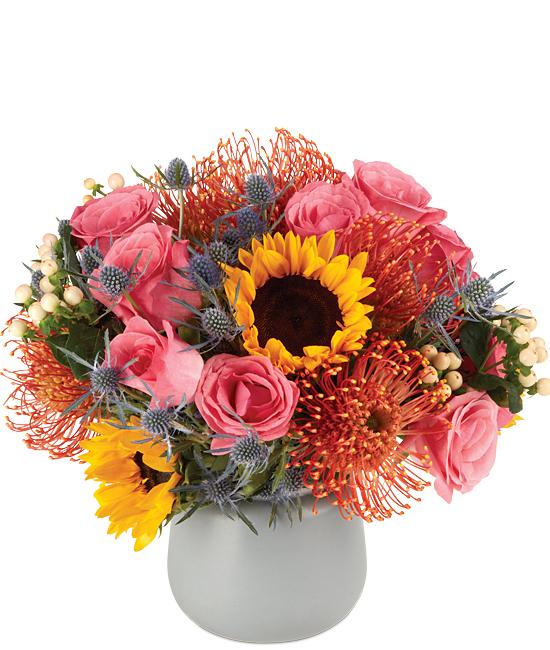 Exotic Sunset Bouquet