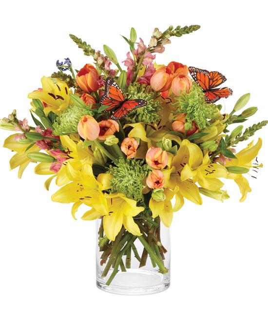 Secret meadow bouquet calyx flowers inc secret meadow bouquet mightylinksfo