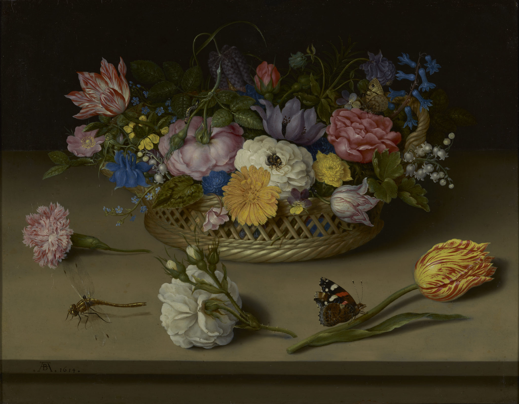 Flower Still LIfe, 1614, Ambrosius Bosschaert the Elder