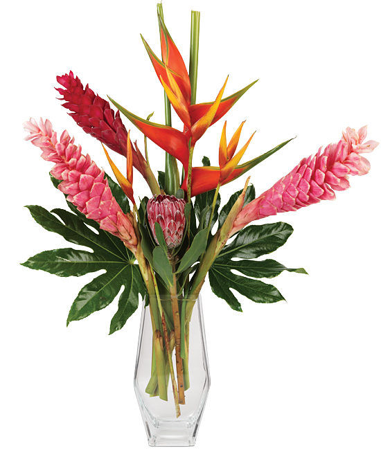 Aug - Tropical Romance Bouquet