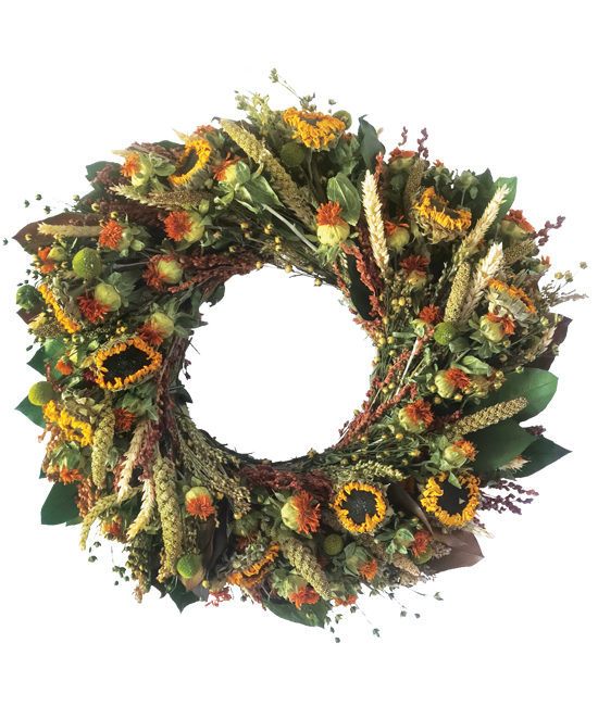 Sep/Oct - Autumn's Abundance Wreath