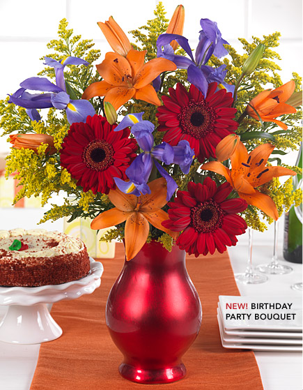 The brand new Birthday Party Bouquet