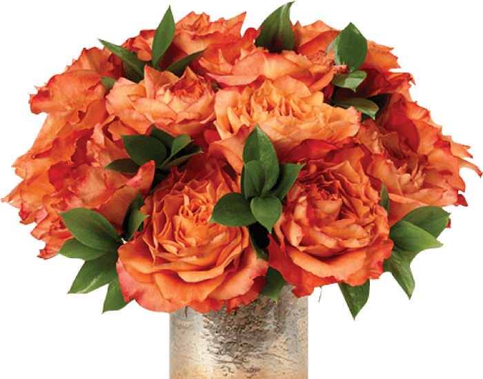 Corporate Orange Rose Gift Bouquet