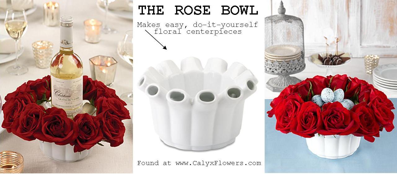 DIY Rose Bowl