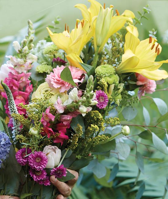 Farmer's Market Bouquet - Calyx Flowers, Inc.