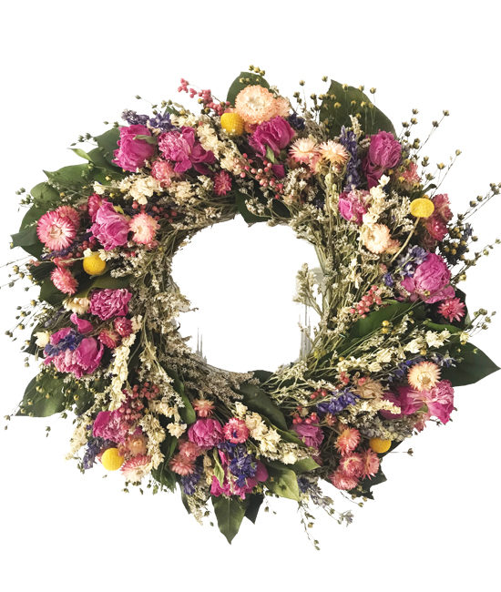 Mar/Apr - The Garden Gate Wreath