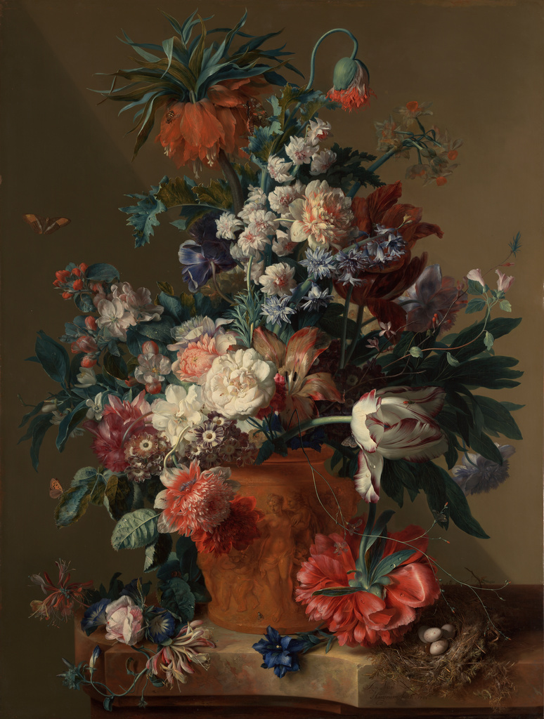 Vase of Flowers, 1722, van Huysum