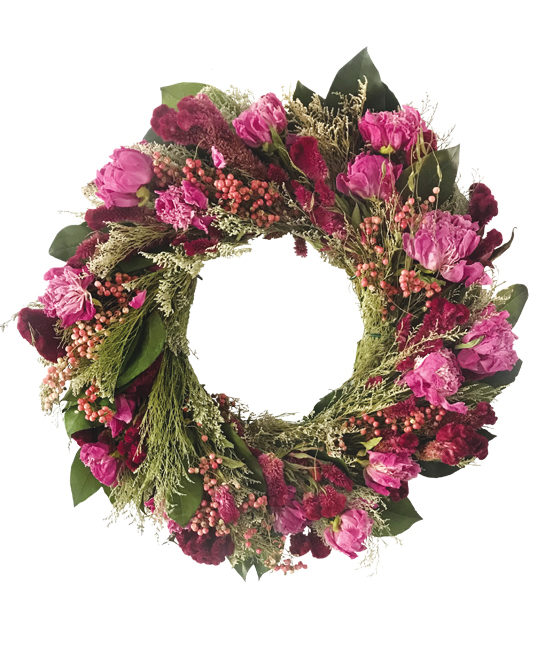 May/Jun - Midsummer's Garden Wreath