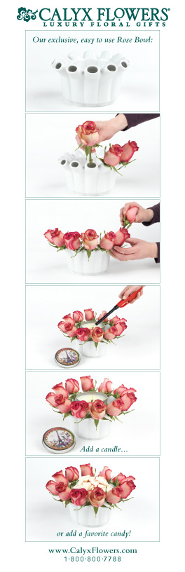Easy to Use Rose Bowl