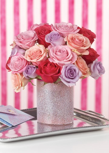 Radiant Roses by Calyx Flowers