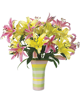 Summertime Lilies by Calyx Flowers