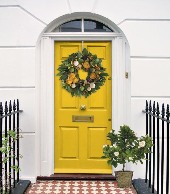 Door Decor!