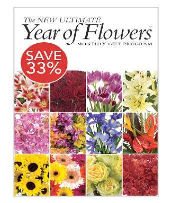 The Ultimate Year of Flowers