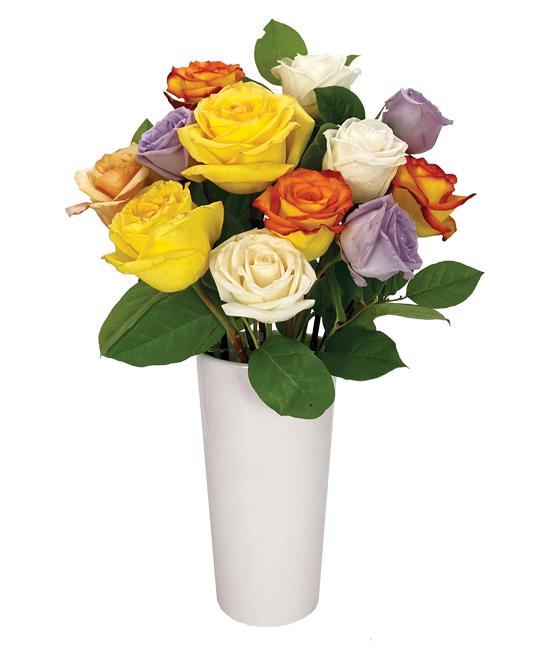 SEP - Mixed Roses & foliage