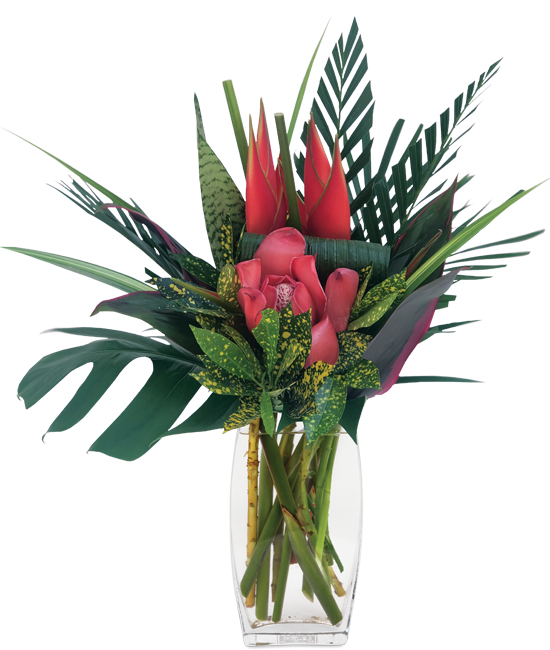 Sep - Prima Heliconia Bouquet