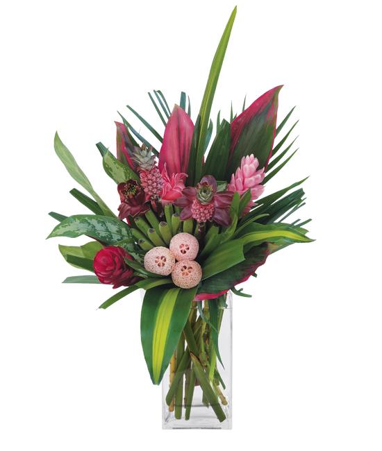 Nov - Anana Red Bouquet