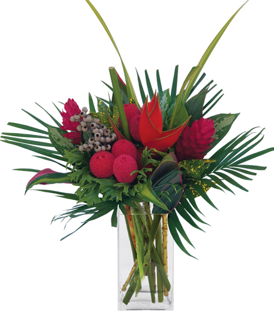 Dec - Treasure Red Bouquet